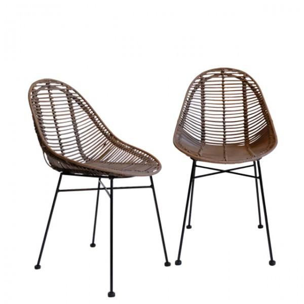 palu rattan chair<br>(팔루 라탄 체어)