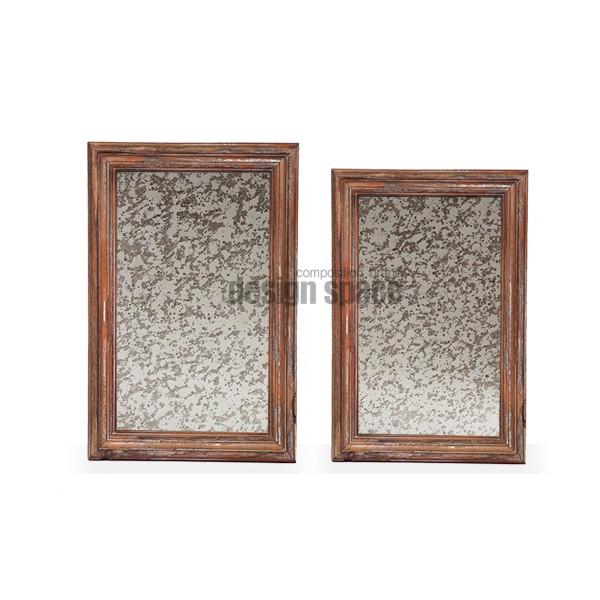 wood smog mirror<br>(우드 스모그 미러)