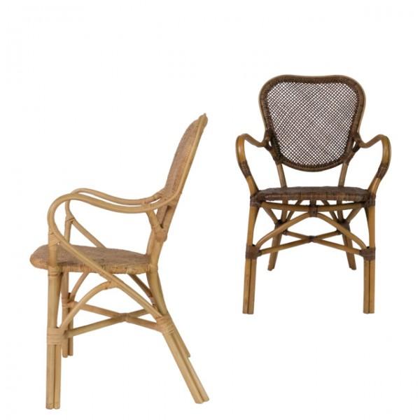 virgo rattan arm chair<br>(비르고 라탄 암체어)