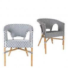 basket rattan arm chair<br>(바스켓 라탄 암체어)